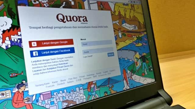 Situs Tanya Jawab Quora Kini Tersedia dalam Bahasa Indonesia