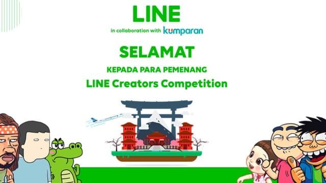 Selamat, Ini Dia Daftar Pemenang LINE Creator Competition!