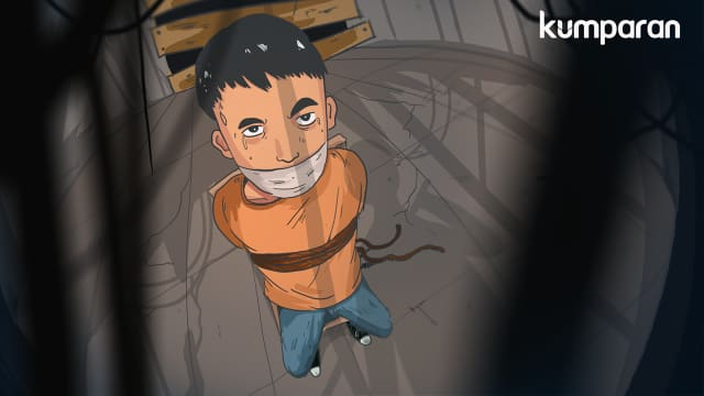 Paskalis Diculik di Depan KPU, Uang Rp 46 Juta Hilang