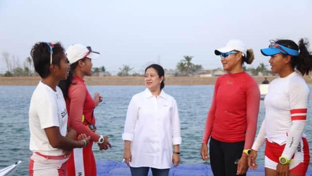 Menko Puan Pantau Kesiapan Penyelenggaraan Asian Games di Jakabaring