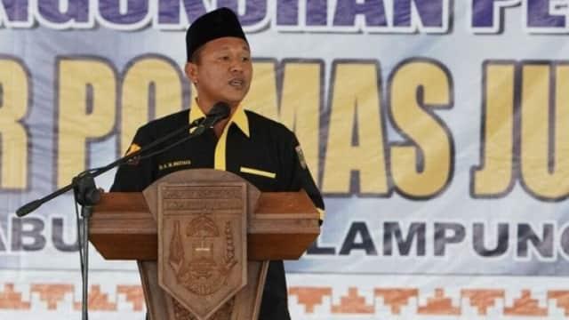 Bupati Mustafa Sudah Diperiksa KPK di Polda Lampung