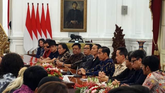 Glenn Fredly hingga BCL Diundang Bertemu Jokowi di Istana