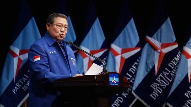 SBY Minta Kader Demokrat Tak Main Isu SARA dan Tak Sebar Hoaks