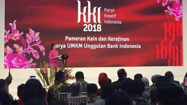 Iriana Jokowi Buka Pameran di JCC: UMKM Adalah Tulang Punggung Ekonomi