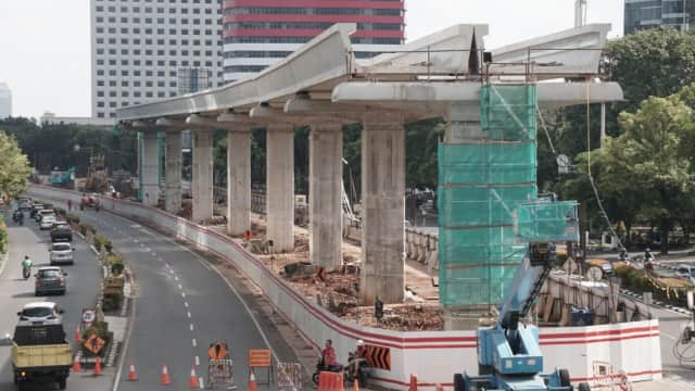 Pembiayaan Infrastruktur di 2019 Mencapai Rp 55,6 Triliun