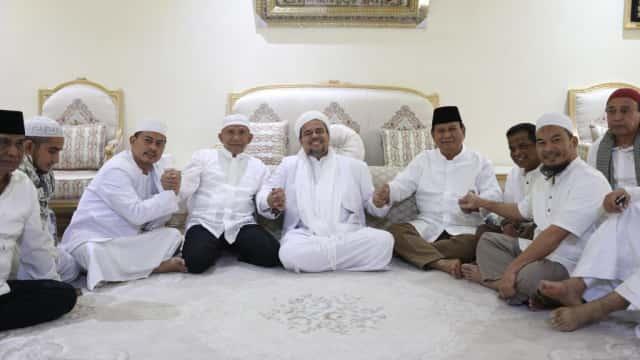 Didukung Rizieq, Kubu Prabowo - Sandi Makin Yakin Menang di Pilpres