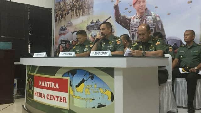 TNI AD: Outbound Pakai Tank Tak Sesuai Prosedur