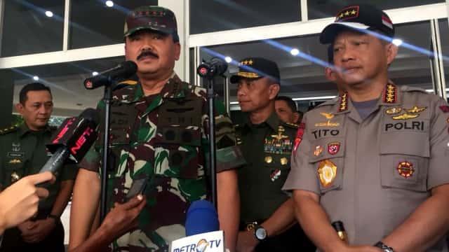 Panglima: Anggota TNI Akan Jadi Bagian dari Densus 88