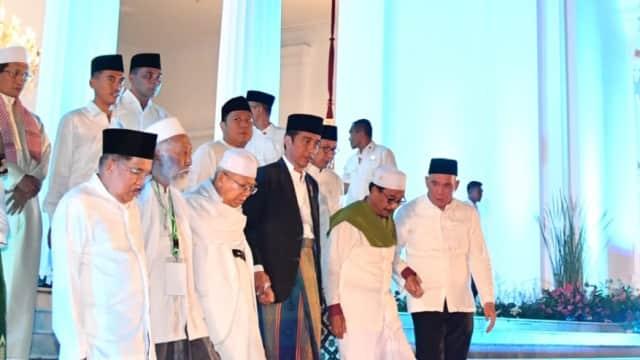Ma'ruf Tepis Isu Jokowi Anti-Islam: Beliau Cinta Ulama