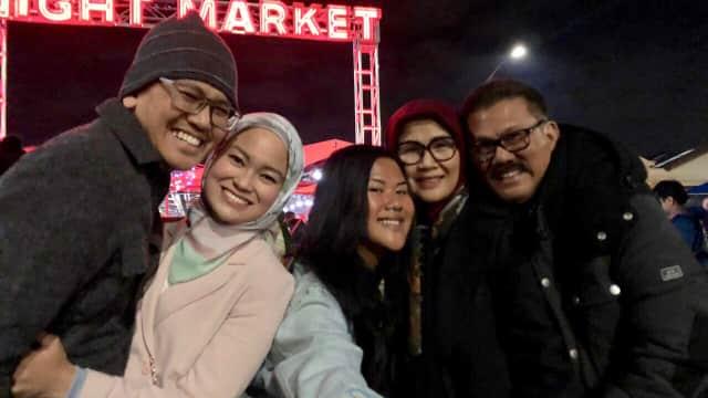 Berkunjung ke Pasar Malam Musim Dingin di Melbourne