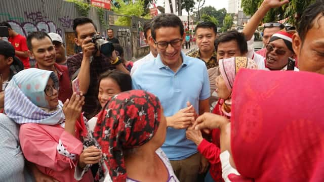 Emak-emak, Armada Andalan Prabowo-Sandi