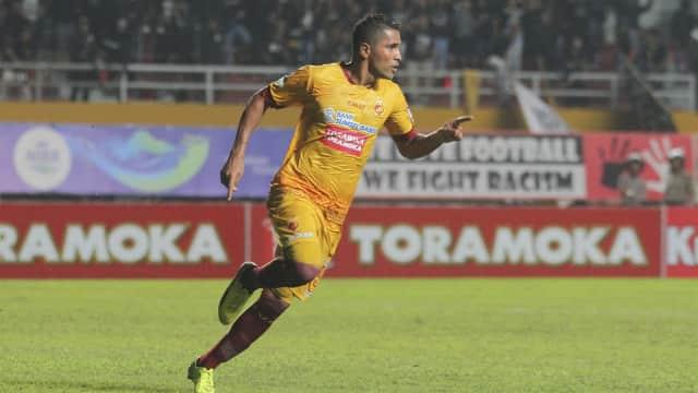 Beto Menangkan Sriwijaya FC atas Persiba Balikpapan