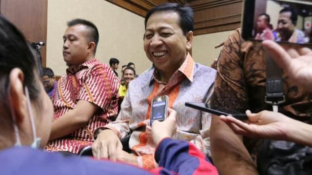 Setya Novanto Belajar Baca Al-Quran dan Jadi Imam Salat di Rutan KPK