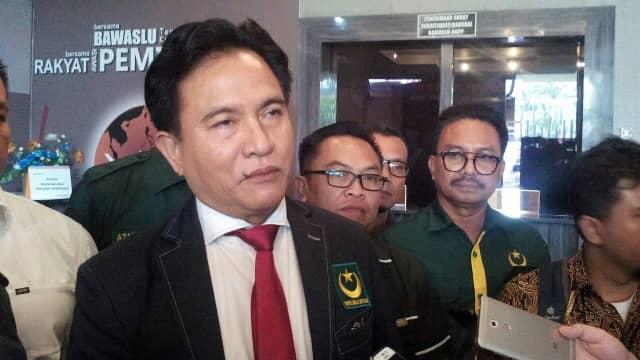 Yusril: PBB Fokus Pileg, Tak Dukung Jokowi atau Prabowo