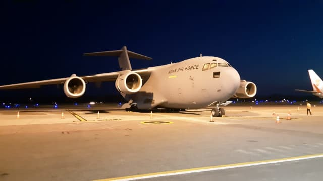 20 Pesawat dari 12 Negara Bantu Penanggulangan Bencana Sulteng