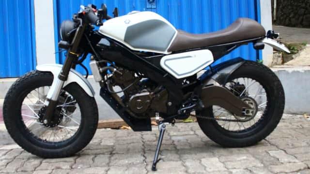 Yamaha V-Ixion Berkonsep Café Racer