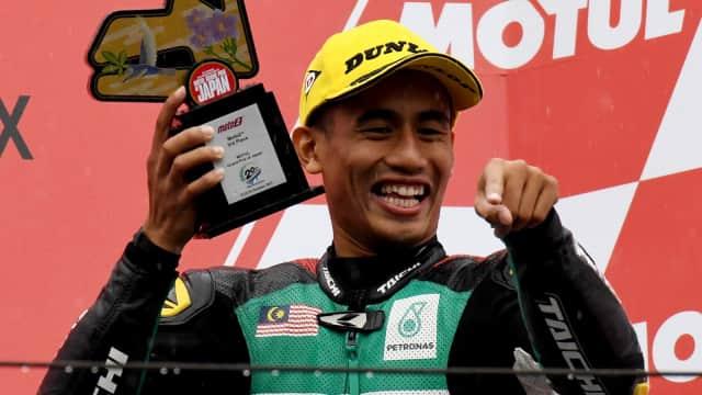 Resmi: Hafizh Syahrin Jadi Pebalap Malaysia Pertama di MotoGP