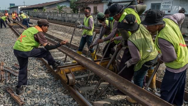Tahun Depan, 3 Jalur Kereta Trans Sumatera Selesai Dibangun