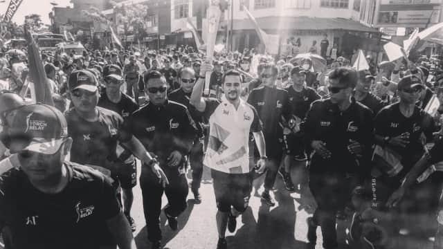 Mario Lawalata Cerita Pengalaman Bawa Obor Asian Games 2018