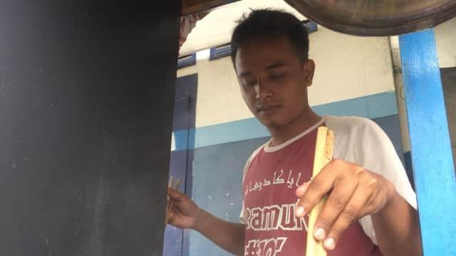 Ada Doa Mulia di Balik Nama Kentut, Pedagang Mi Ayam di Tangerang
