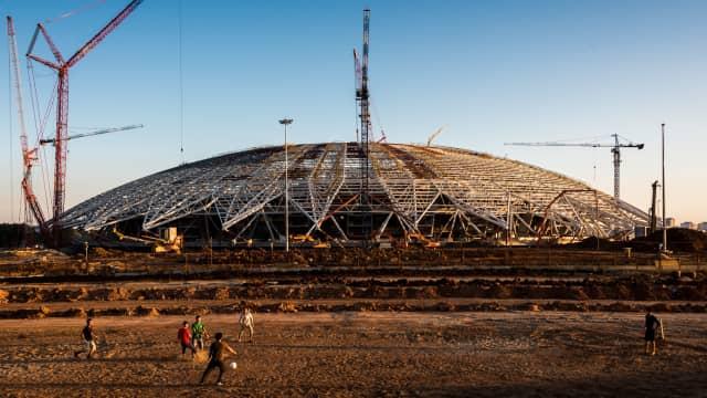 Molornya Pembangunan Stadion Piala Dunia di Samara