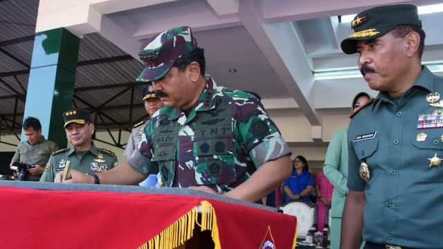 Panglima TNI Resmikan Monumen Alutsista TNI-Polri di Magelang