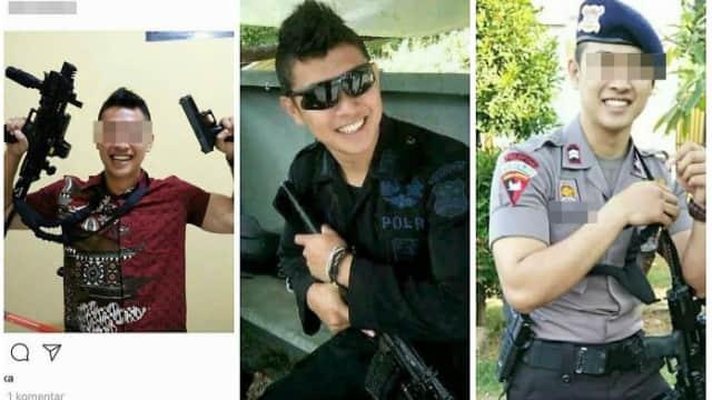 Pacar Brimob yang Tembak Pengawal Prabowo Juga Bikin Laporan ke Polisi