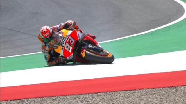 MotoGP Jerman: Marquez Podium Pertama, Rossi dan Vinales di Bawahnya