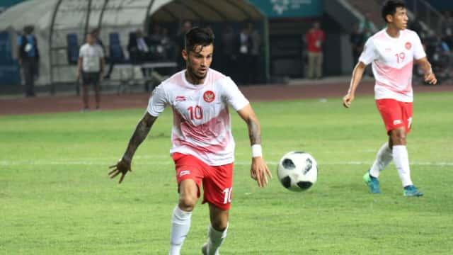 Pelatih Hong Kong Akui Kehebatan Stefano Lilipaly