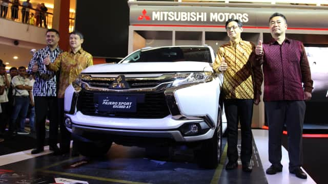 Kandungan Lokal Mitsubishi Pajero Sport Meningkat
