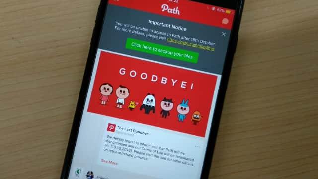 Hari Ini, Aplikasi Path Akan Ditutup Selamanya