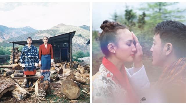 Nadine Chandrawinata dan Dimas Anggara Ungkap Alasan Menikah di Bhutan