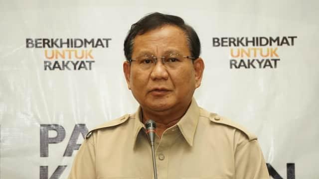 Prabowo soal Polemik Pemberian Piala Presiden: Tanya Saja Panitia