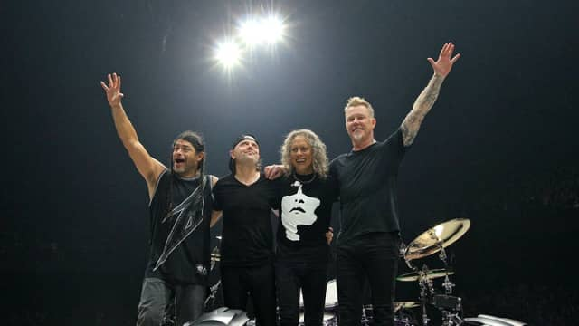 Metallica Gunakan Data Spotify untuk Rancang Setlist Konser