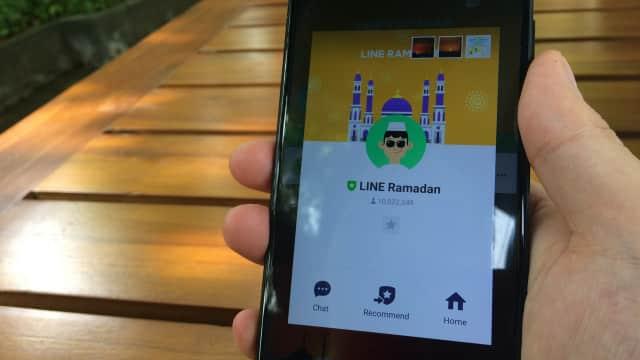 Marbot, OA LINE Ramadan Sahabat Anda di Bulan Penuh Berkah