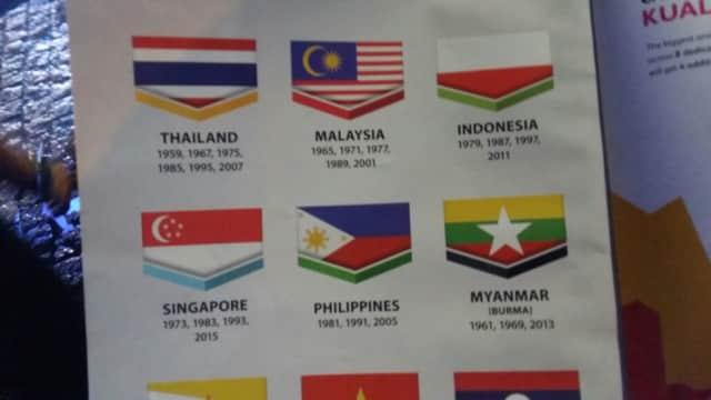 Bendera Indonesia Dilecehkan di Buku Panduan SEA Games, Menpora Berang