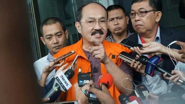 Fredrich Yunadi Merasa Dilecehkan Pakai Rompi 'Tahanan KPK'