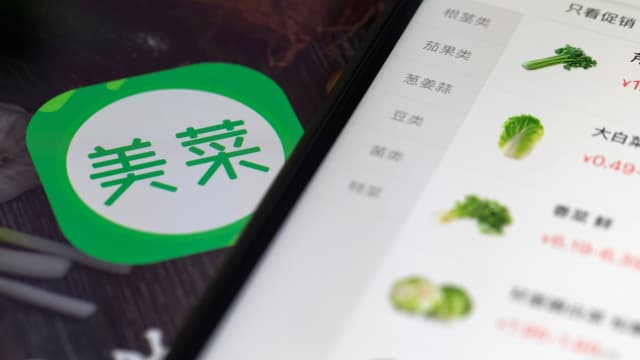 Startup Jualan Sayur China Raih Pendanaan USD 450 Juta