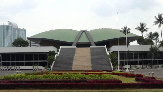 DPR Rapat dengan Yasonna Bahas Penambahan Pimpinan MPR/DPR/DPD
