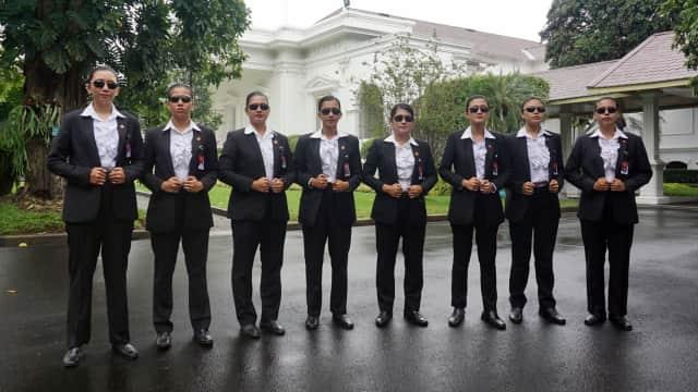Cerita Paspampres Wanita Kawal Jokowi di Peringatan Hari Kartini