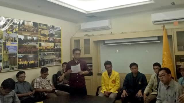BEM Lintas Generasi Kecam Tindakan Polisi di Demo 3 Tahun Jokowi-JK