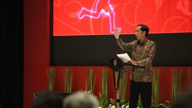 Presiden Jokowi Minta Kementerian Fokus Realisasikan Program Prioritas