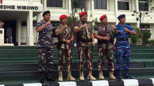 Panglima TNI Tunjuk Wakasau Baru, Waka Bais Jadi Pangdam Jaya