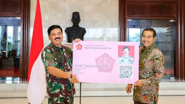 BRI Siapkan KTA TNI/PNS TNI Sebagai ATM dan Uang Elektronik
