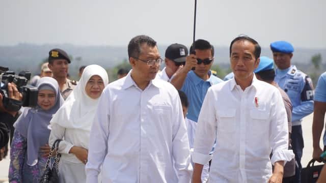 Jokowi: Warga Lombok Boleh Pakai Sisa Uang Bantuan Buat Keperluan Lain