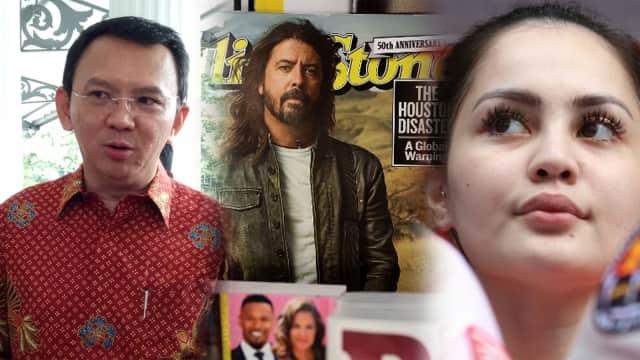 Rangkum 8 Januari 2018: Edisi Sepekan, dari Rolling Stone hingga Ahok
