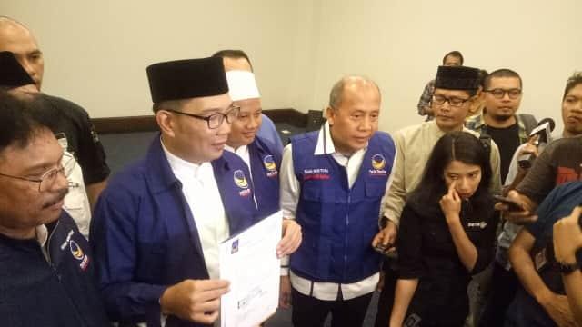 Nasdem Sudah Lama Setuju Uu Jadi Cawagub Ridwan Kamil
