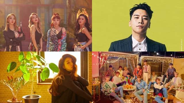 7 Rencana Comeback K-Pop di Paruh Kedua Juli 2018