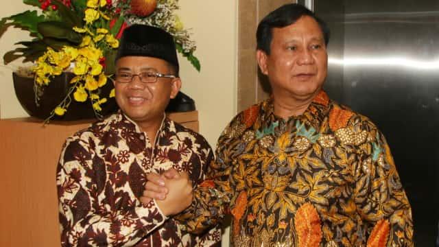Sohibul: Kami Sudah Minta Prabowo Buat Surat Ajukan Wagub DKI dari PKS