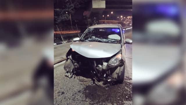 3 Kecelakaan Mobil di Jakarta pada Kamis Dini Hari